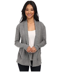 Alternative Apparel Eco Jersey Rib Sleeve Wrap Eco Grey Women's Sweater Gray