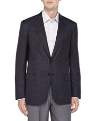 Brioni Micro Check Two Button Jacket