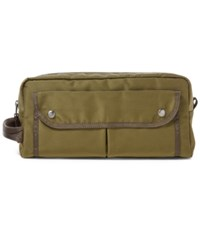 Polo Ralph Lauren Men's Military Shave Bag Olive Green