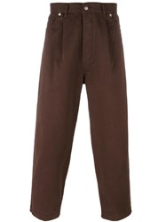 Societe Anonyme 'Japboy' Trousers Brown