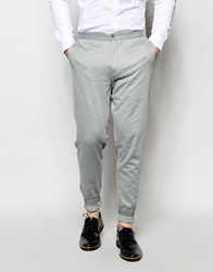 Vito Smart Jersey In Skinny Fit Lightgrey