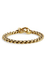 Giles Brother Spike Toggle Chain Bracelet Classic Brass