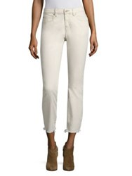 Eileen Fisher Undyed Slim Ankle Jeans Undyed Natural