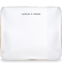 Undercover Cables And Wires Leather Pouch Mirror