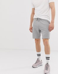 New Look Jersey Shorts In Grey