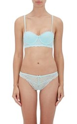 Heidi Klum Women's Lune De Miel Strapless Bra Light Blue