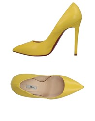 Couture Pumps Yellow