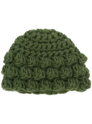P.A.R.O.S.H. Knitted Beanie Hat Green