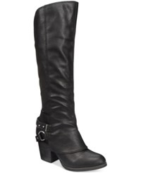 American Rag Eboni Cuffed Boots Only At Macy's Women's Shoes Black