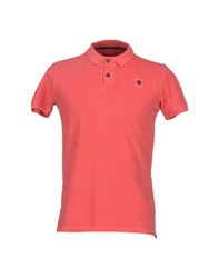 Invicta Topwear Polo Shirts Men Coral