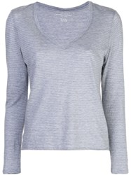 Majestic Filatures Loose Fit Knitted Jumper Grey