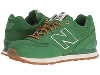 New Balance Ml574 Spruce Synthetic Men's Shoes