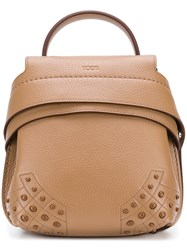 Tod's Functional Mini Backpackz Brown