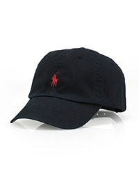 Polo Ralph Lauren Signature Pony Hat Black