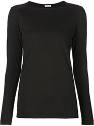 Tomas Maier Square Neck T Shirt Black