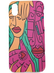 Haculla Guy And His Gun Iphone X Case Pink
