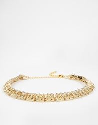 Gogo Philip Link Chain Choker Necklace Gold