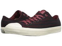 Converse Chuck Taylor All Star Ii Ox Textile Oxblood Shoes Red