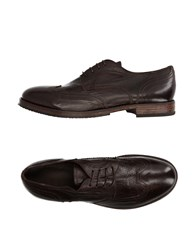 Moma Lace Up Shoes Dark Brown