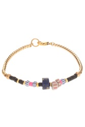 Lizzie Fortunato Lou Lou Bracelet With African Beads