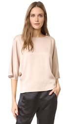 Zero Maria Cornejo Vero Top Shiny Blush