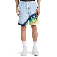 Ovadia And Sons Not Fade Away Tie Dyed Sweatshorts Multi