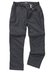 Craghoppers Men's Kiwi Convertible Trousers Nearly Black