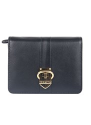 Dents Soft Leather Purse With Buckle Detail Navy