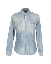 Cycle Denim Denim Shirts Men Blue