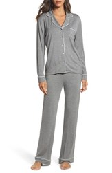 Uggr Women's Ugg Lenon Jersey Pajamas Grey Heather