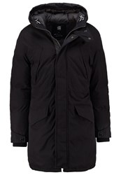 G Star Gstar Expedic Hdd Cotton Parka Winter Coat Black