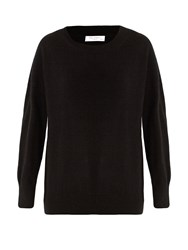Equipment Melanie Round Neck Cashmere Sweater Black