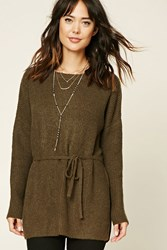Forever 21 Contemporary Drawstring Tunic