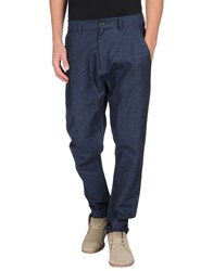 Bill Tornade Billtornade Trousers Casual Trousers Men Blue