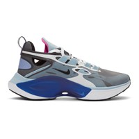 Nike Grey And Blue Signal D Ms X Sneakers