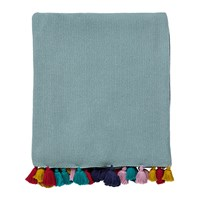 Harlequin Quintessence Tassel Knitted Throw