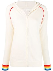 Chinti And Parker Zipped Hoodie Neutrals