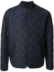 Cerruti 1881 Quilted Jacket Blue