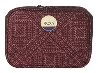 Roxy Daily Break Lunch Bag Grapewine Cayo Coco Wallet Brown