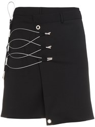Alyx Toggle Mini Skirt Virgin Wool Black