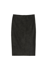 Jitrois Suede Pencil Skirt