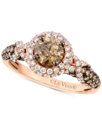 Le Vian Chocolatier Diamond Engagement Ring 1 5 8 Ct. T.W. In 14K Rose Gold