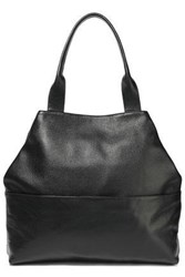 Iris And Ink Claire Pebbled Leather Tote Black