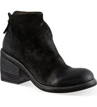 Marsell Round Toe Ankle Boots Black