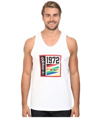 Adidas 1972 Track Tank Top White Men's T Shirt