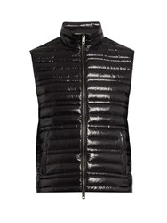 Burberry Quilted Down Gilet Black