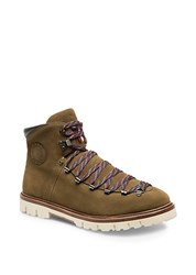 Bally Chack Suede Hiking Boots Caki