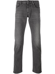 Armani Jeans Slim Tapered Black