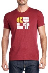 Cult Of Individuality Square Logo Tee Red