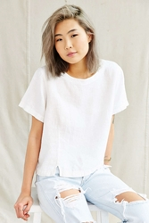 Urban Renewal Vintage White Linen Cropped Top Assorted